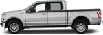 Ford F-150 2015 Upper Side Stripes on Vehicle