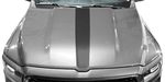Dodge RAM 1500 2019 Hood Center Stripe on Vehicle