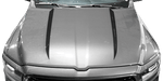 Dodge RAM 1500 2019 Hood Cowl Spears on Vehicle