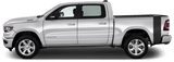 Dodge RAM 1500 2019 Rumblebee Bedside Tail Stripes on Vehicle