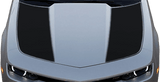 Chevy Camaro 2014 Hood Side Blackouts / Stripes on Vehicle