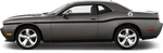 Dodge Challenger 2008 MOPAR 10 Style Beltline Stripes on Vehicle