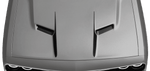 Dodge Challenger 2015 Center Hood Accent Spears on Vehicle