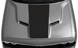 Dodge Challenger 2015 Center Hood Decal on Vehicle