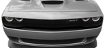 Dodge Challenger 2015 Hellcat Front Fascia Blackout on Vehicle