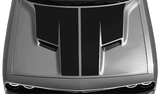 Dodge Challenger 2015 Main Hood Decal on Vehicle