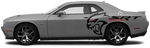 Dodge Challenger 2015 Rear Billboard Side Logos on Vehicle