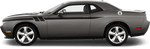 Dodge Challenger 2015 Side Accent Hash Stripes on Vehicle