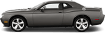 Dodge Challenger 2015 Upper Beltline Pinstripes on Vehicle