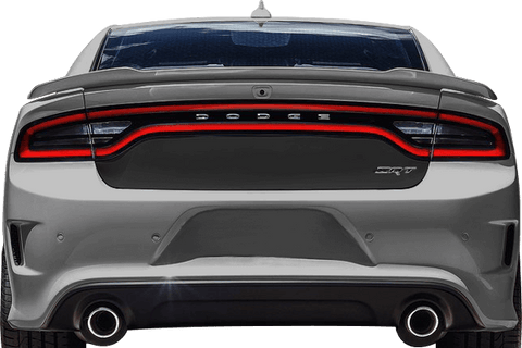 Dodge Charger 2015 Trunk Blackout Decal on Vehicle