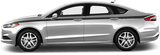 Ford Mondeo 2014 Full Length Upper Side Stripes on Vehicle
