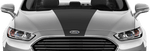 Ford Mondeo 2014 Bonnet Center Stripe on Vehicle