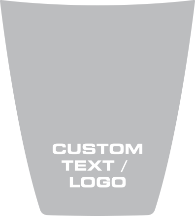 Ford 2015 F-150 Hood Center Decals Design Style 1