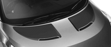Hyundai Veloster 2011 Hood Scallop Accent Blackouts on Vehicle
