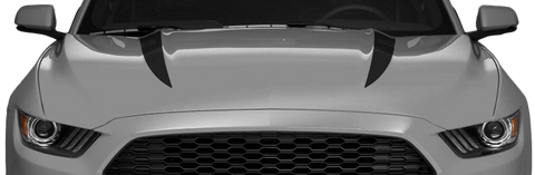 Ford Mustang 2015 Hood Spears on Vehicle