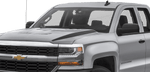 Chevy Silverado 2016 Hood Spears on Vehicle