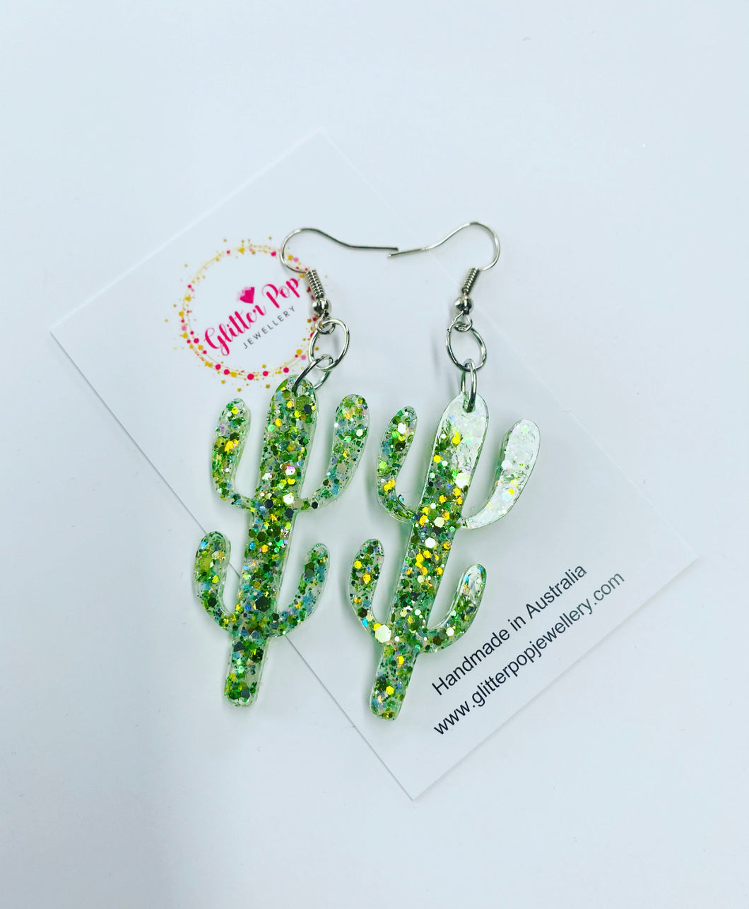 Green mix cactus drops