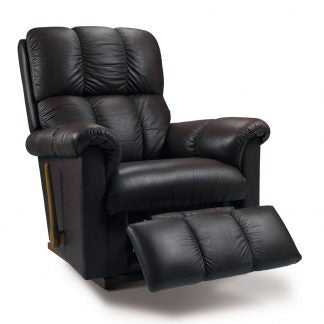 ASPEN Leather Rocker Recliner