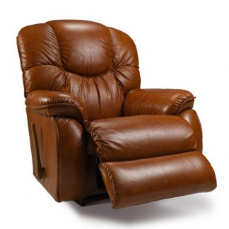 DREAMTIME Leather Rocker Recliner