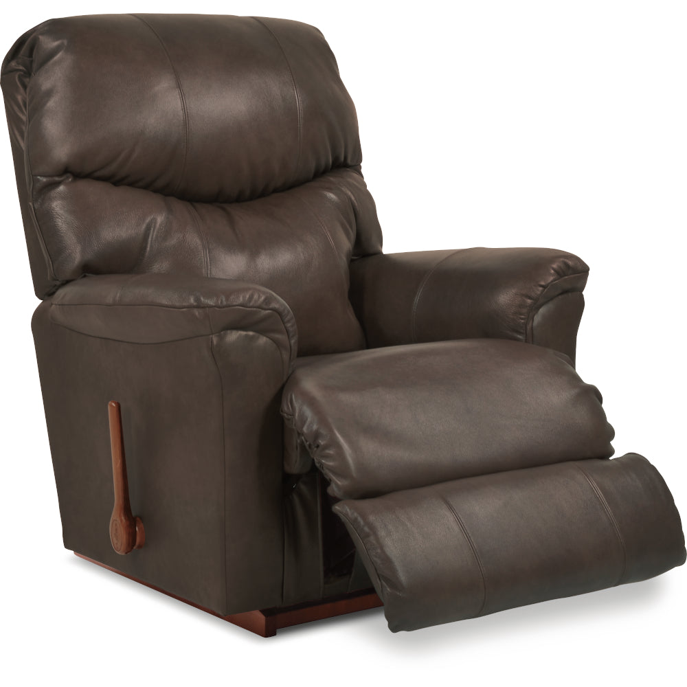 LARSON Leather Rocker Recliner