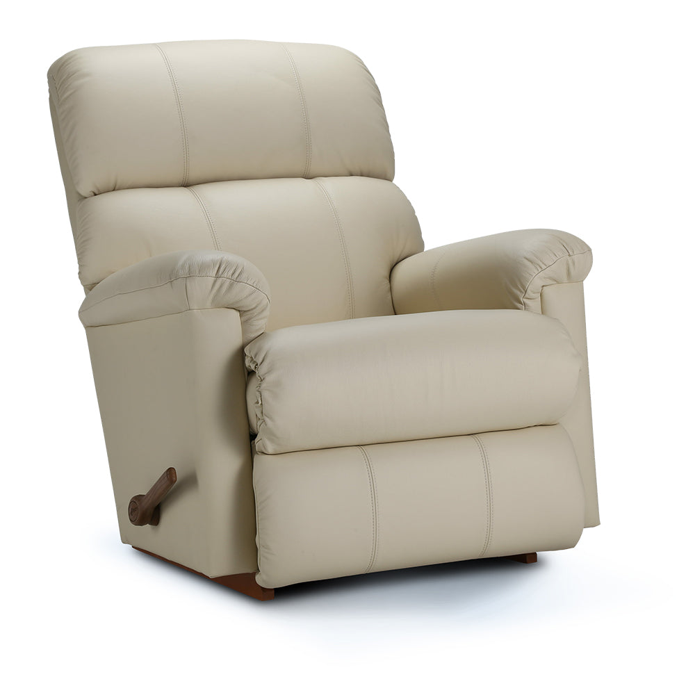 SUMMIT Leather Rocker Recliner