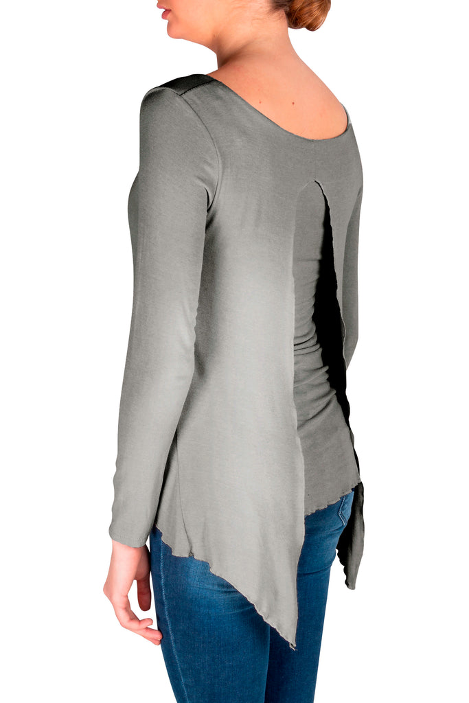 Heather Grey Via Strozzi Signature Top