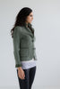 Green Deconstructed Blazer