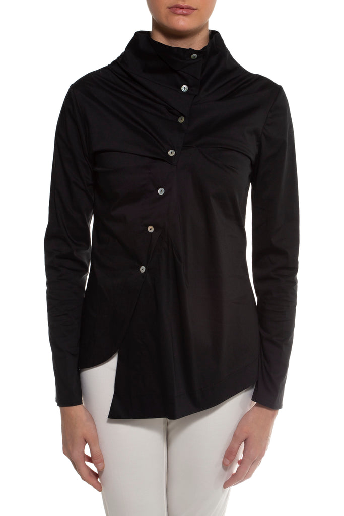 Black Devin Blouse
