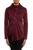 Burgundy Devin Blouse