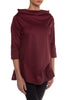 Burgundy Alyssa Blouse