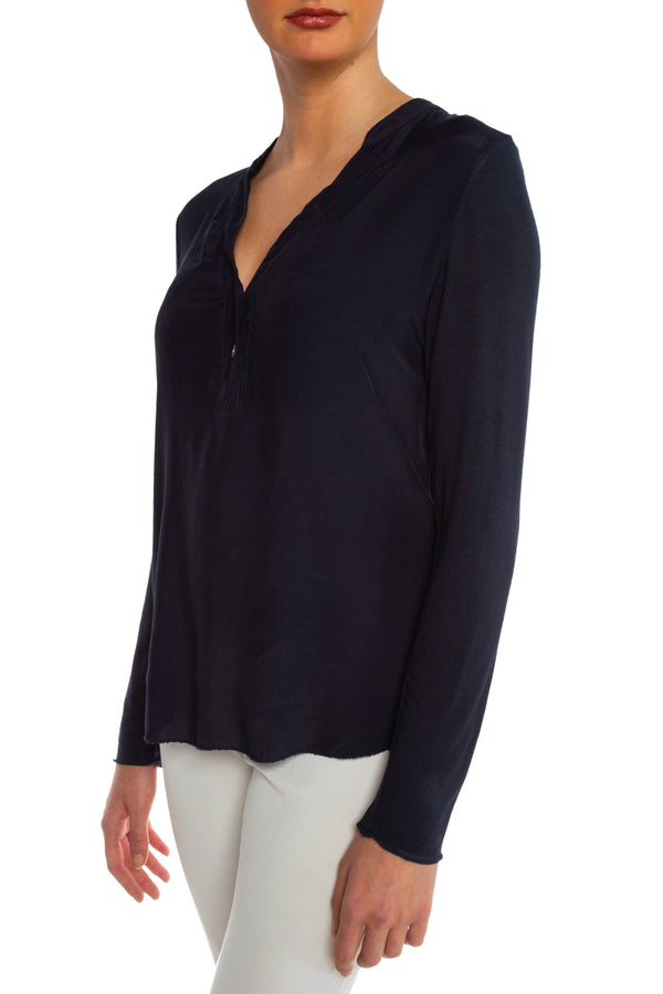 Navy Buttoned Down Shirt