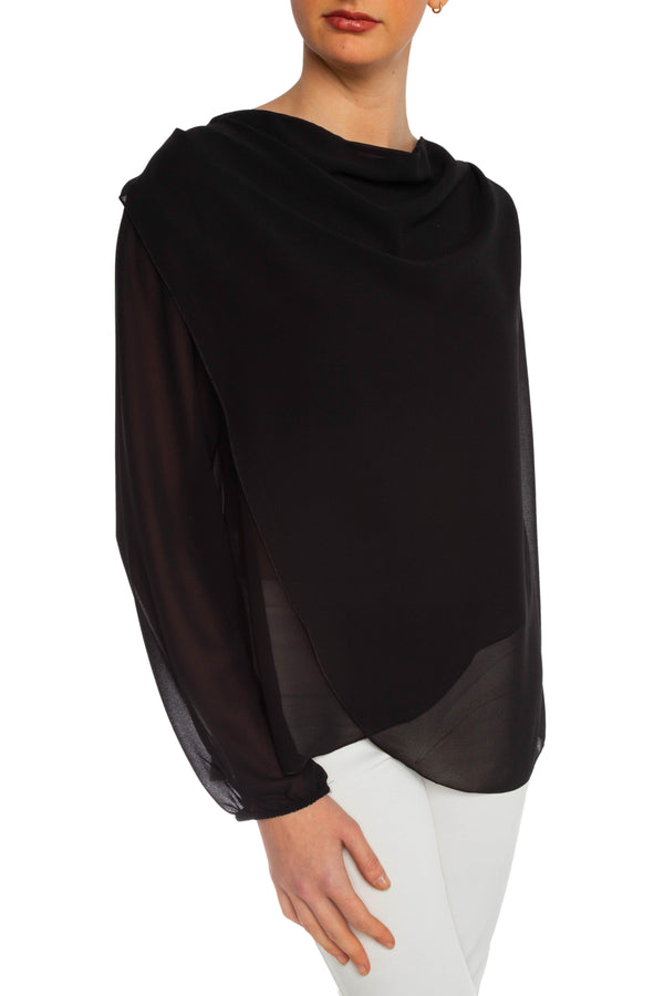 Black Sally Blouse