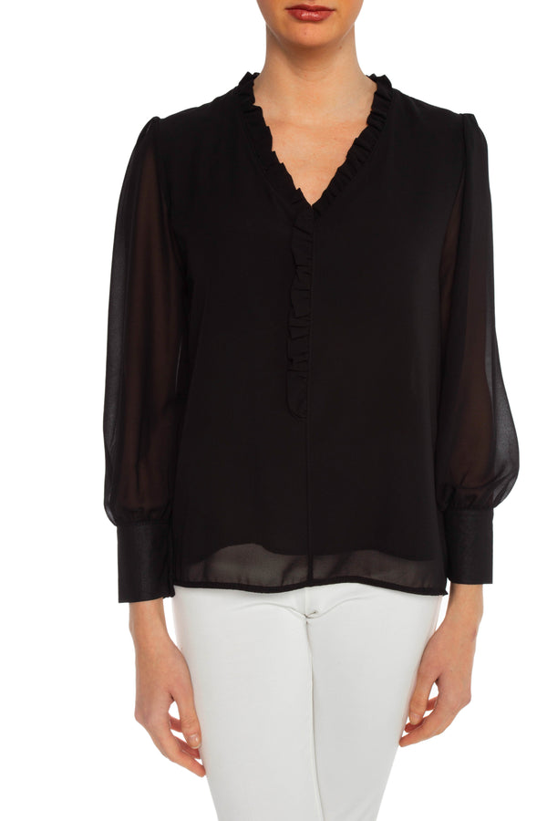 Black Jan Blouse