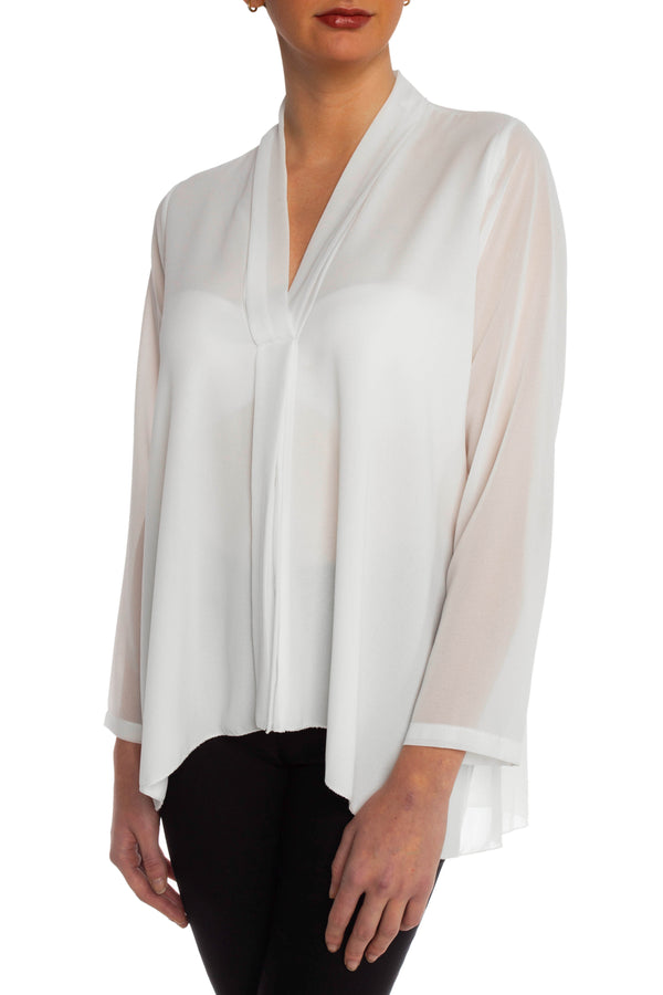 White Chloe Blouse
