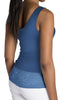 Indigo Short Lace Tank Top