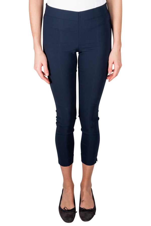 Navy Via Strozzi Signature Trousers