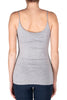 Grey Thin Strap Tank Top