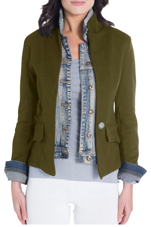 Green Signature Jean Jacket