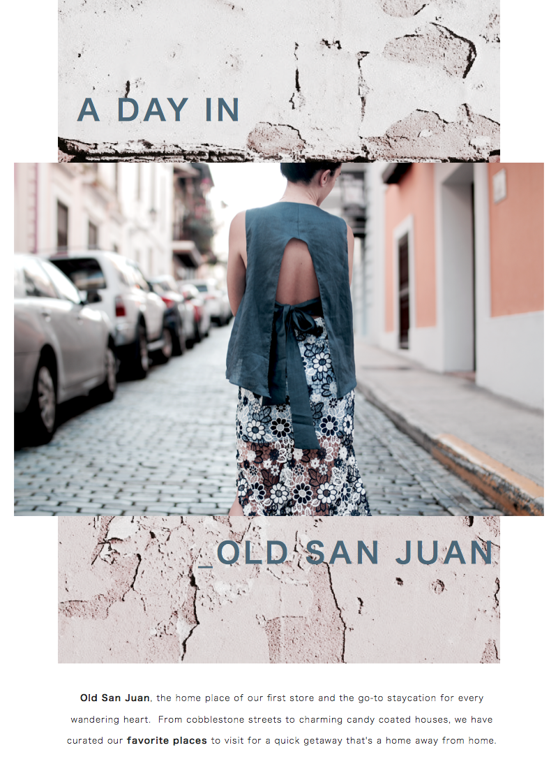 Collective Request: A Day In Old San Juan