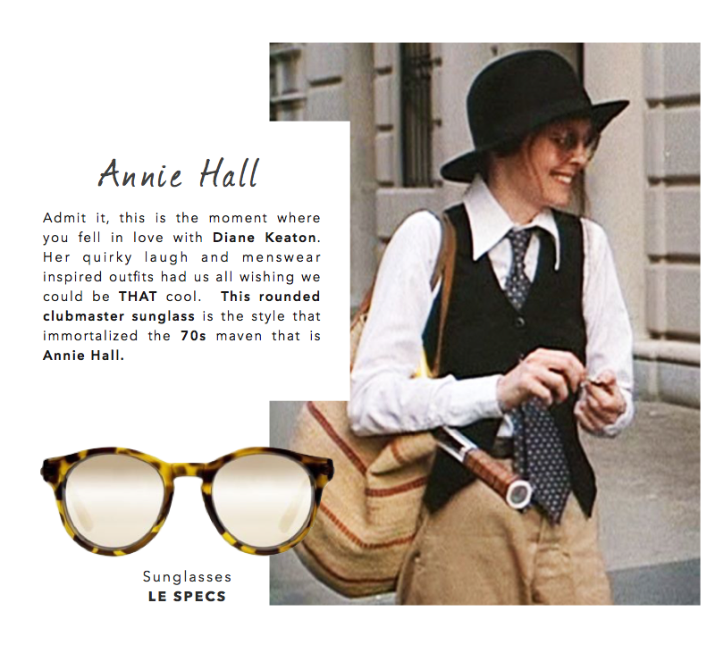 Collective Request: Le Specs Hey Macarena- Annie Hall