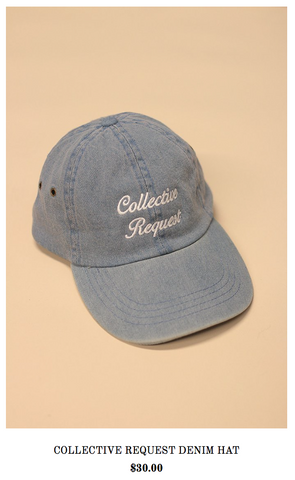 Collective Request Hat- Holiday Wish List