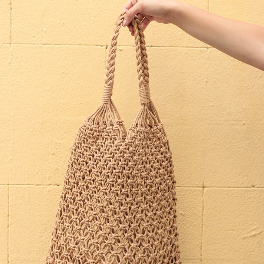 Natural Net Handbag | Must-have bags for Summer 2018