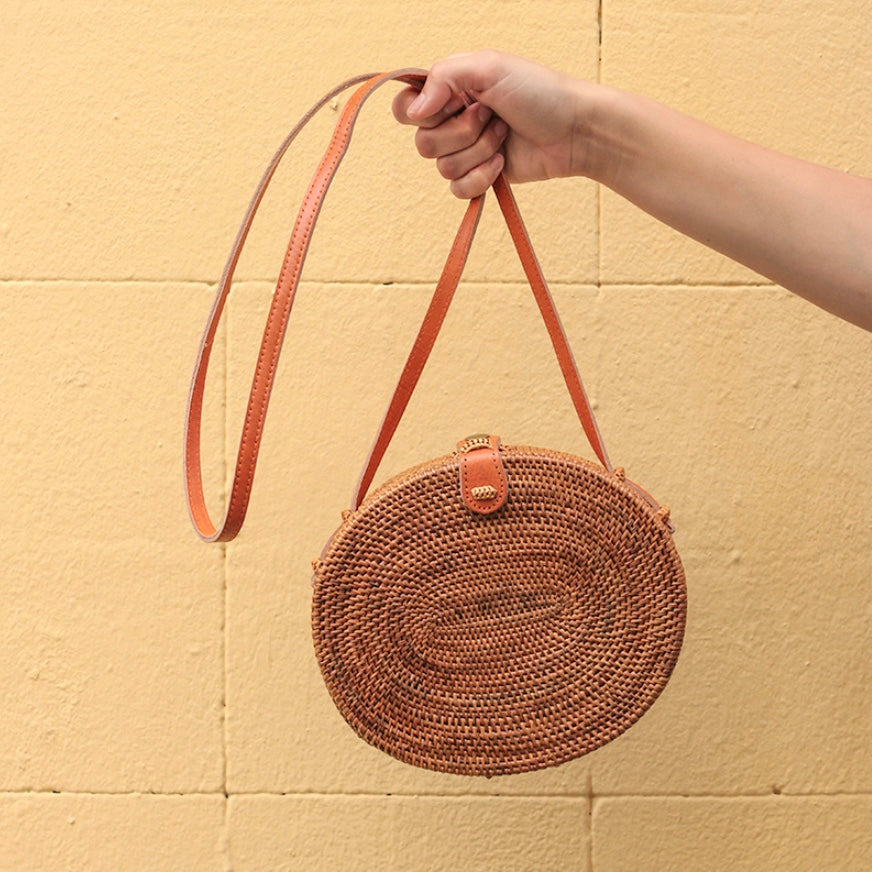 Natural Straw Bag | Must-have bags for summer 2018