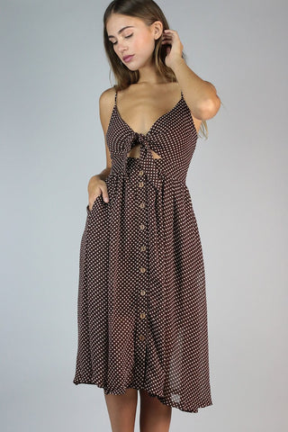 Polka Dot Summer Dress | Collective Request