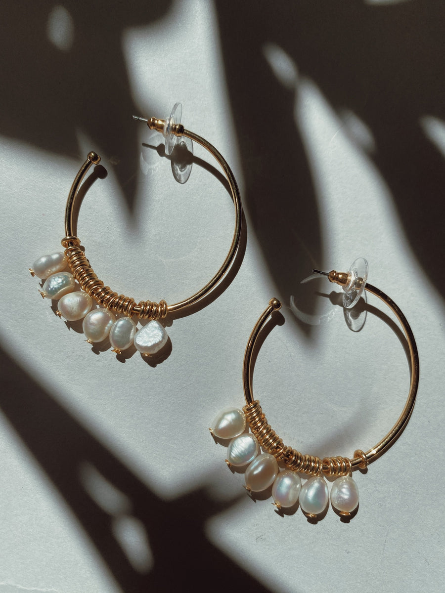 Marquita Hoop Earrings