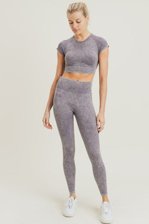 Wavelength Mineral Wash Seamless Leggings