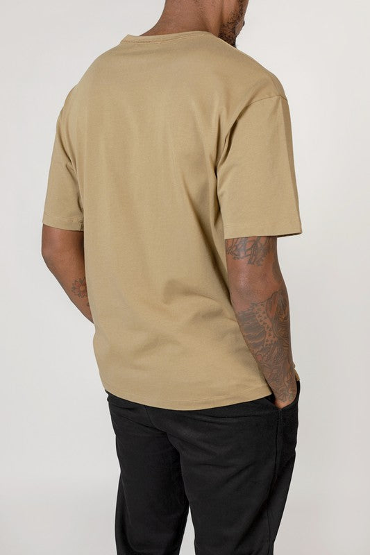 Light Olive The Elias Top