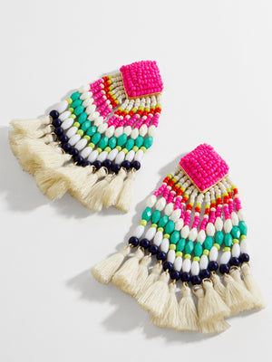 Rosa Drop Earrings-Multi