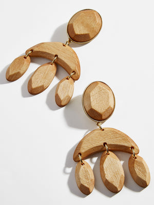 Cedar Drop Earrings