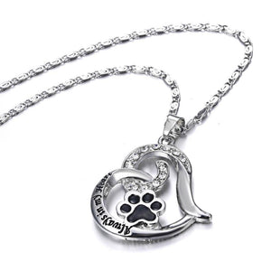 Always in My Heart Pet Necklace - Abby's Alley